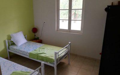 Chambre-2 verte -du-gite